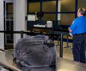 TSA Security Check at Seatac Airport